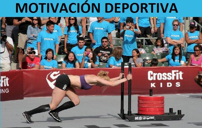 motivación deportiva en los entrenamientos