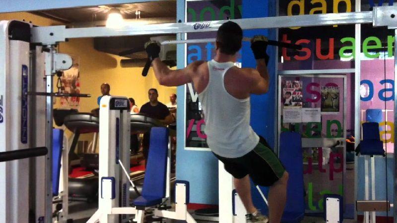 Crossfit rutinas ejercicio dominadas