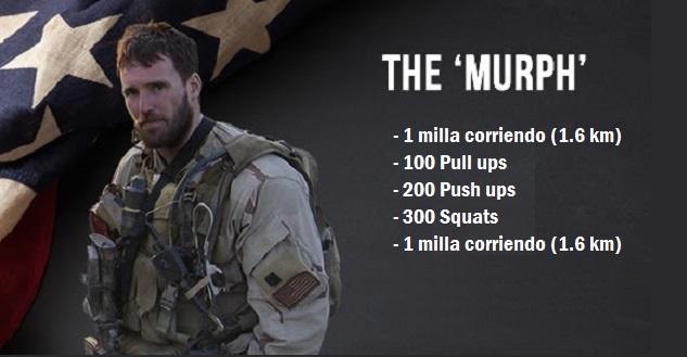 Wod Murph Crossfit entrenamiento
