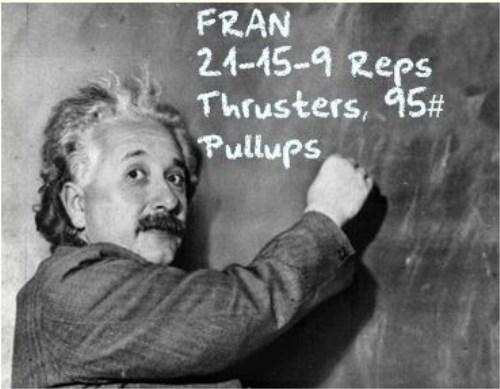 El denominado Fran es otro de los WOD's más duros del Crossfit