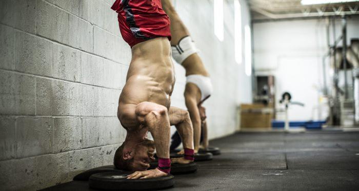 Wod Diane Crossfit handstand push ups