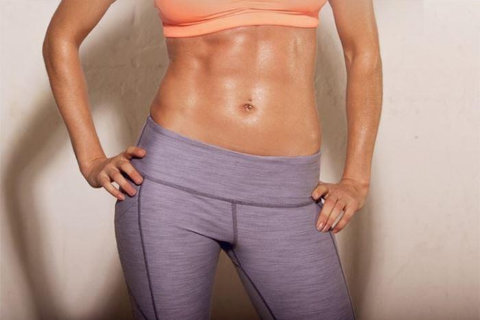 ¿Por qué no marco un abdomen fuerte?