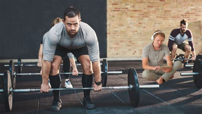 El perezoso en el box de CrossFit