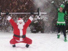 Ejercicios de CrossFit para combatir la Navidad
