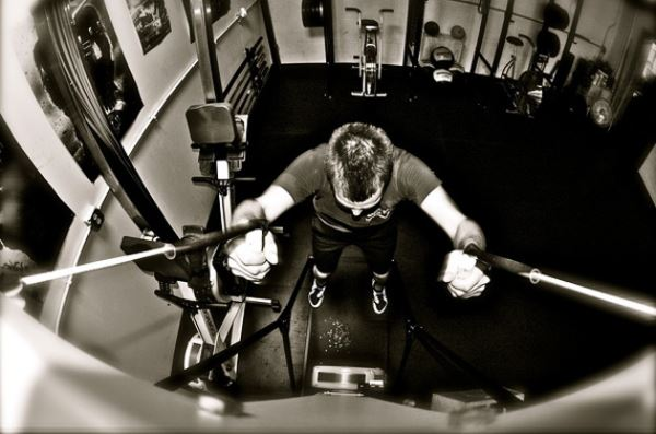 Practica el Skierg en CrossFit para combatir los excesos de la Navidad