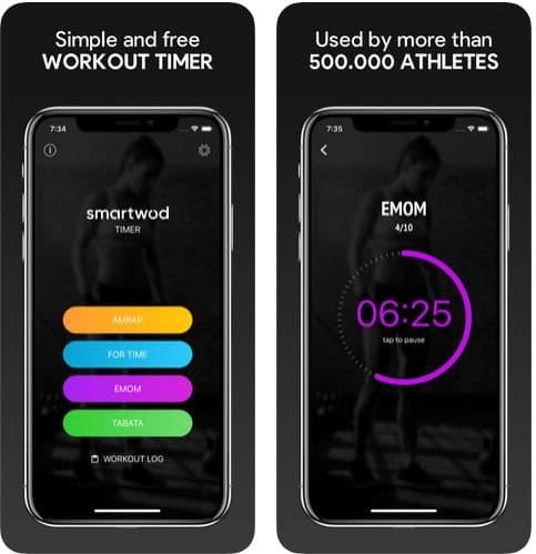 SmartWOD Timer app crossfit