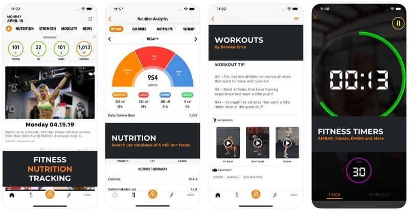 5 Apps de Crossfit para Entrenar en cualquier sitio