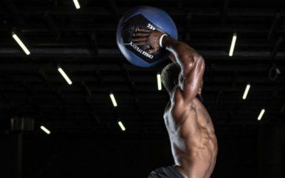 Ejercicios con balón en CrossFit